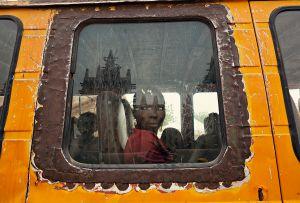 Djenné, Mali: A girl arriving at the famous Thursday market.  © Matjaz Krivic