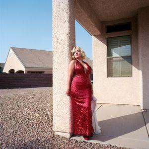 Jami as Marilyn Monroe, Henderson, NV, 2013.
