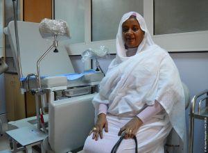 Visiting Soba hospital