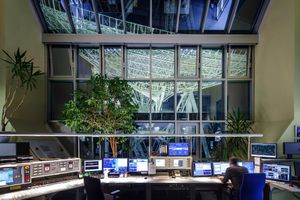 Control center - Effelsberg Radio Telescope.