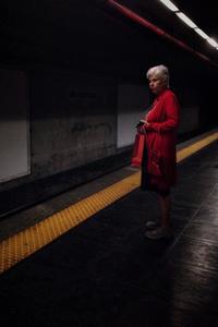 Linea A. Metropolitana. Roma