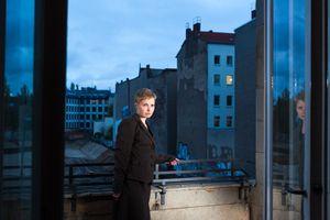 Woman on Balcony (2013)