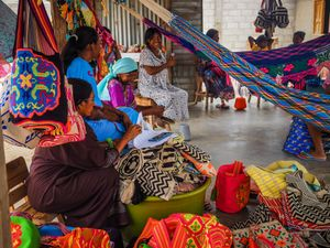 Wayuu women, as givers of life, not only assure the continuity of their lineage but also the permanence of Wayuu existence. They are in charge of teaching and transmitting the spiritual and traditional aspects of the Wayuu life and culture.
