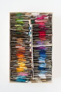 Tempus Silens / Embroidery Silk in Box