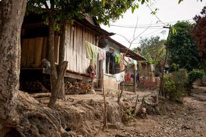Bah Nar Village in Kon Tum Province
