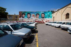 Parking in Shiraz