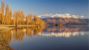 Lake Wanaka, Otago, New Zealand in Spring