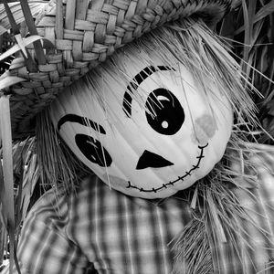 Straw Man Halloween Decoration