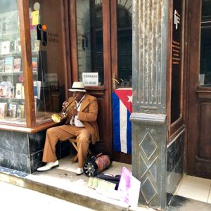 Street Musician, Old Havana