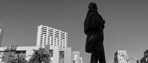 statue, San Diego.