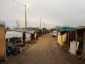 Calais, November 2015 ©Henk Wildschu
