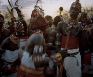 lmuget le nkarna # VI, sasaab village, westgate community conservancy, northern kenya-from the series 'with butterflies and warriors'-David Chancellor