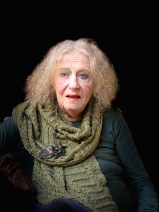 Portrait of the photographer Lisl Steiner