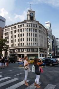 Wako building: a symbol of Ginza