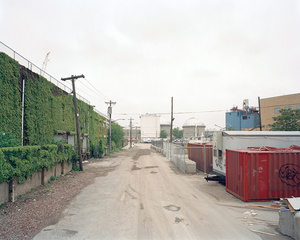 End of North Henry Street, Greenpoint, Brooklyn, looking southwest