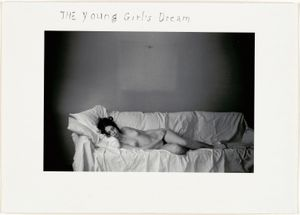 The Young Girl's Dream, 1969 © Duane Michals; The Henry L. Hillman Fund. Courtesy of Carnegie Museum of Art, Pittsburgh