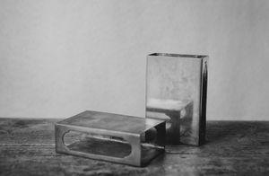 """Silver Matchboxes"" © Lisa Blair"