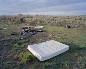 Discarded Box Spring, Madison County