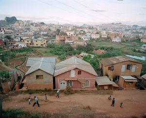 Soccer Players, Antananarivo, Madagascar