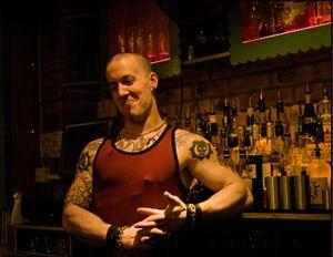 Proud Polish barman