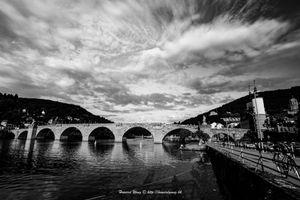 The hundreds year-old bridge