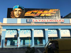 Che Guevara Billboard, Cienfuegos