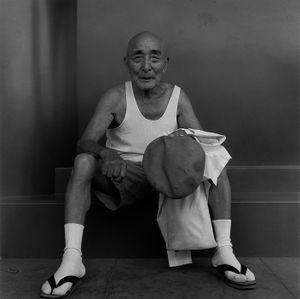 A chief carpenter, 1985 © Hiroh Kikai from Asakusa Portraits, courtesy of Steidl