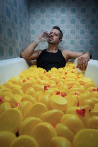 Badass & the ducks.