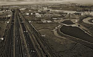 New Jersey Turnpike along the Arthur Kill