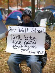 Derrick, Unemployed Auto Worker, Occupy Detroit 2011