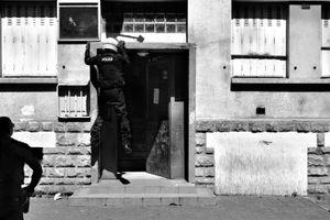 Descente de police