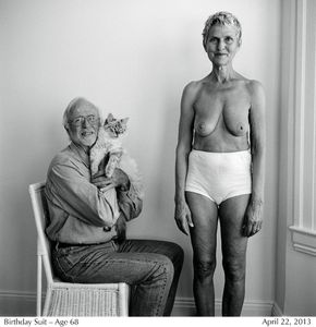 Birthday Suit - Age 68 © Lucy Hilmer