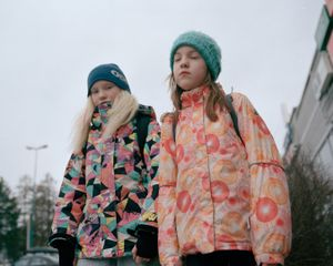 "On a school road. From the exhibition ""Kainuu"" © Maria Gallen-Kallela"