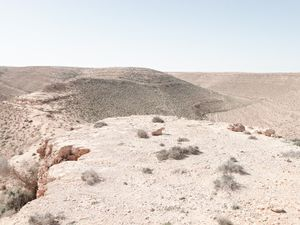 "Artillery emplacement, Bunker Z84, Wadi Zitoune Battlefield, Libya | From the book ""Topography is Fate: North African Battlefields of World War II"" | © Matthew Arnold Photography"