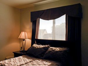 """Naval Base Visitor Bedroom from """"If The Light Goes Out: Home from Guantanamo"""" © Edmund Clark"""