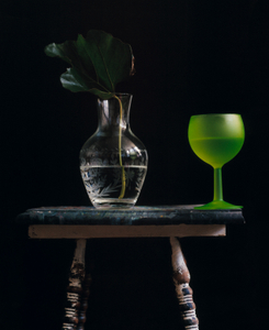 Still Life with a Green Glass, Studio, NYC