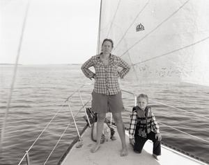 Alison and Emmett, Off the Coast of Maine