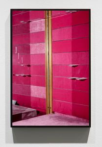 Untitled (Magenta), 2013/15, Pigment print, 45 x 30 inches