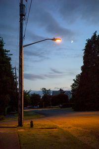 an evening walk in Port Townsend