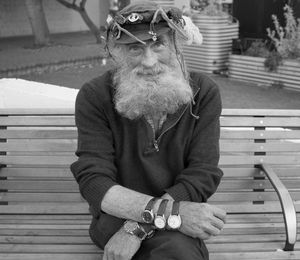 Man with 5 Watches