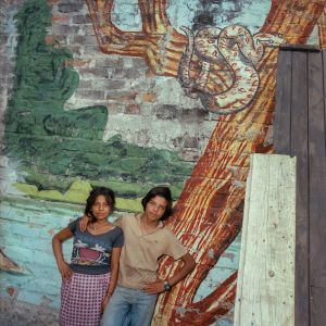 Homeless Couple, San Salvador 1987