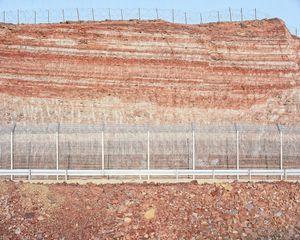 Roadcut, Red Mountains (Egypt Border), 2012