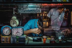 Clock repair shop