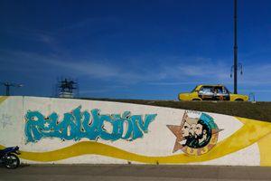 Graffiti on a wall in Havana, Cuba