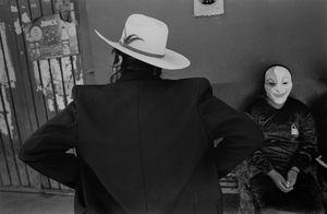 Hat and mask, San Martin Tilcajete