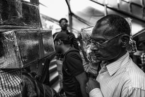 IMPRESSIONS AT THE OLD DELHI RAILWAY STATION 54