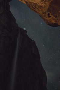 La Cueva, Angel falls rappels, National Park Canaima Venezuela