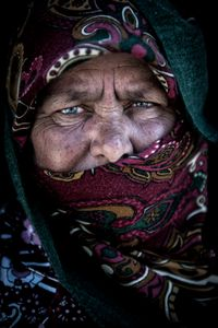 Iranian tribal woman
