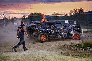 Damaged Derby Car