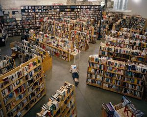 Reading on the Floor, Weller Book Works, Salt Lake City